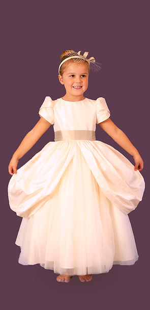 little girl wedding dress petite couture
