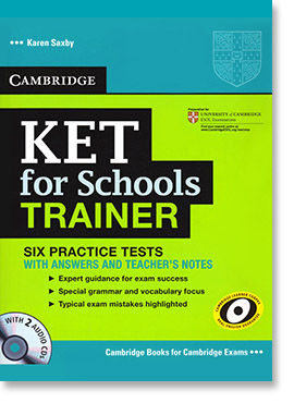 KET for schools trainer book
