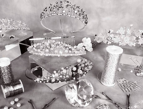 tiaras headpieces bridal accessories