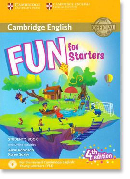 Fun for Starters book