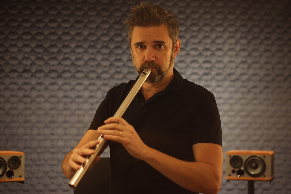 Marcos Ciscar playing Irish Low Whistle