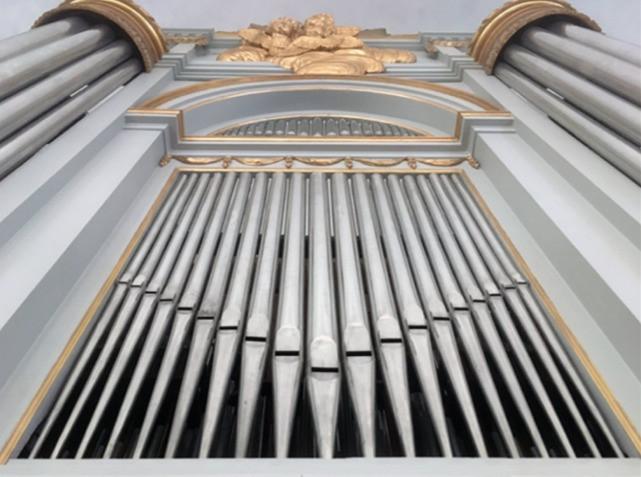 Marcos Ciscar Eternity Church Organ