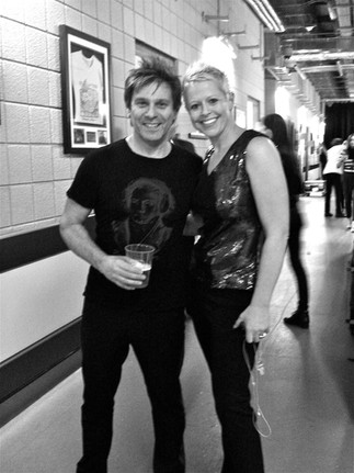 with Roger Taylor