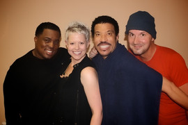 with Lionel Richie