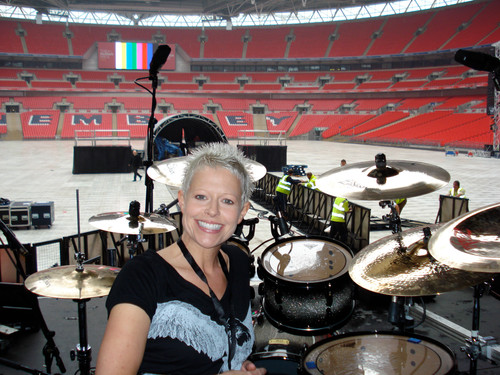 Wembley with Moby