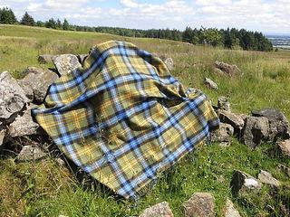 Baldernock Tartan on rocks.jpg