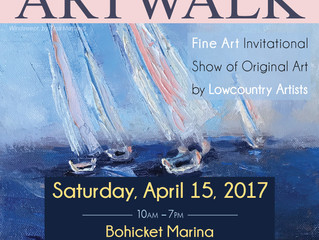 The 7th Annual Art Walk at Bohicket Marina