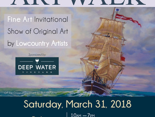8th Annual Art Walk at Bohicket