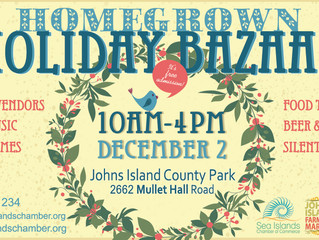 Now Accepting Vendors and Sponsor Applications for Homegrown Holiday Bazaar