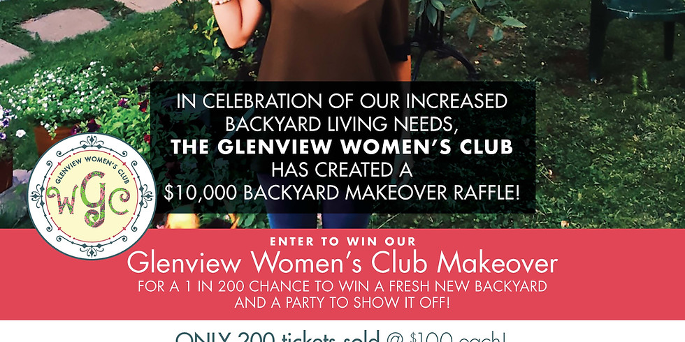 TICKET SALES EXTENDED - $10k Backyard Makeover - NEW DATE