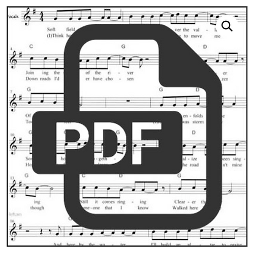 One of These Days - Sheet Music Download