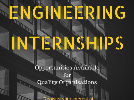 Internship Opportunities for Your Organisation!