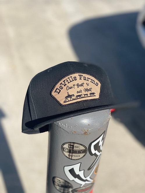 DeVille Farms patched hat