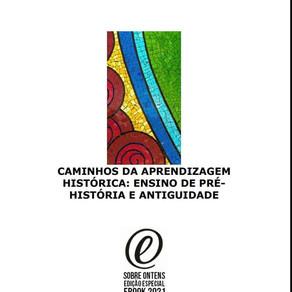 Lançamento da coletânea Ensino de Pré-História e Antiguidade