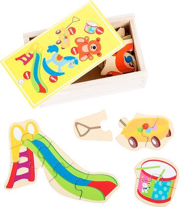 """Boîte de puzzle """"mon premier jouet préféré"""