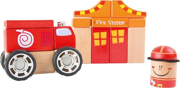 Kit de construction pompiers