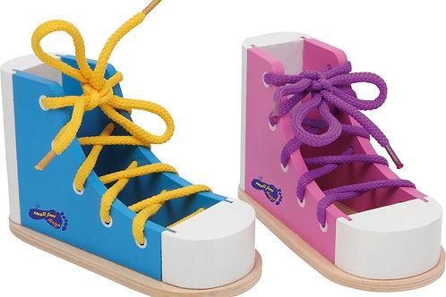 Chaussures à lacer colorées