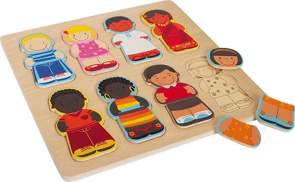 """Puzzle """"enfants du monde"""""""