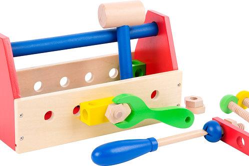 Boîte à outil coloré