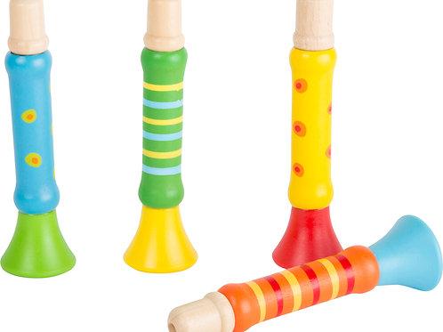 trompettes colorées