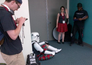Even Scottish Stormtroopers deserve to be loved...