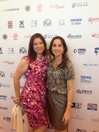 Rockin' the US China Film & Television Industry Expo!