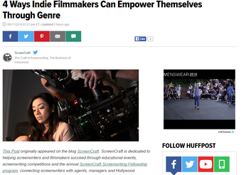 Emily reflects on HELEN and genre filmmaking on the Huffington Post