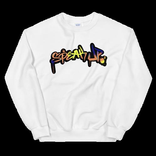 Speak Up In Color Sweatshirt