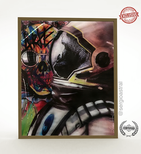 Gorila Astronauta 56x70