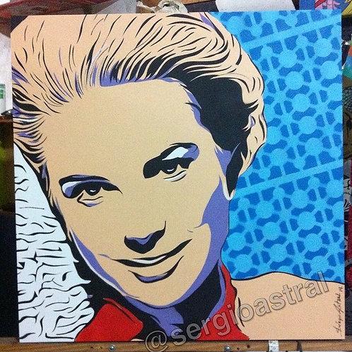 Grace Kelly (tamanho 70x70cm)