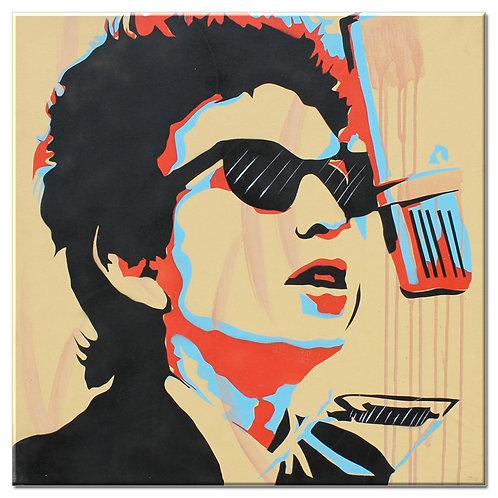 Pintura Bob Dylan ( tamanho 70x70cm)
