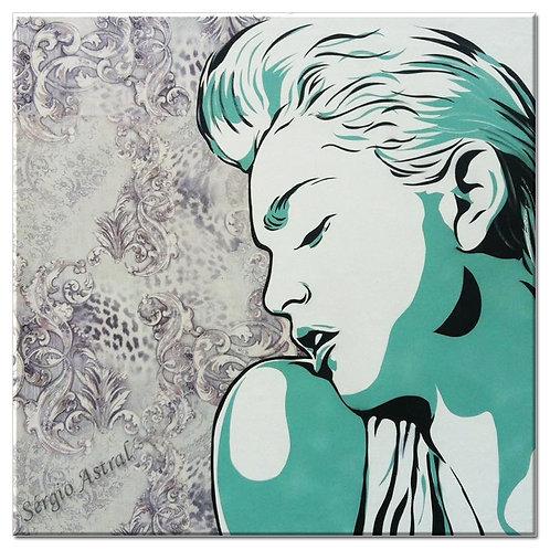 Pintura Madonna ( tamanho 70x70cm )