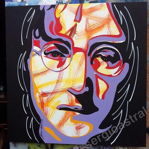 John Lennon ( tamanho 70x70cm)