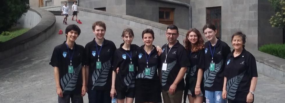 Team in Tbilisi