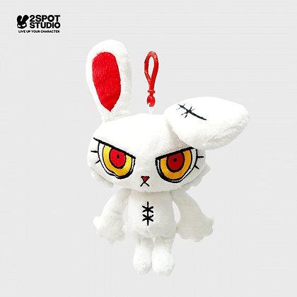 Bloody Bunny Key Chain Doll