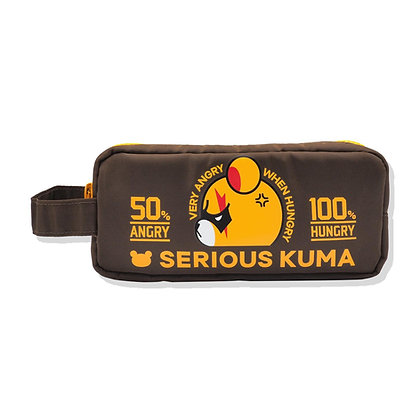 SERIOUS KUMA(CLASSIC/BROWN) POUCH BAG