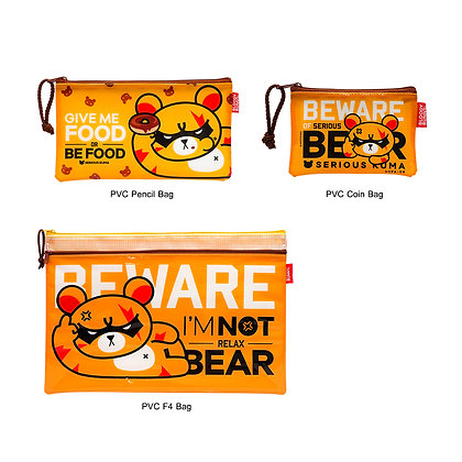 Serious Kuma PVC Bag Set