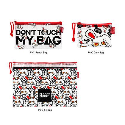 Bloody Bunny PVC Bag Set (Milti)
