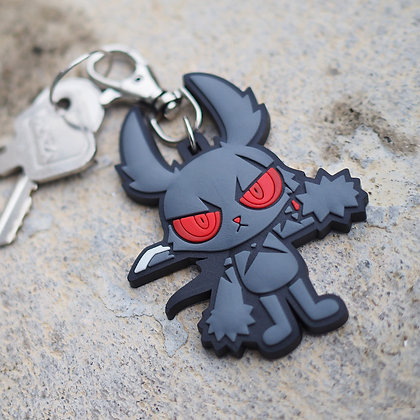 DARK RABBIT (ORIGINAL) KEYCHAIN
