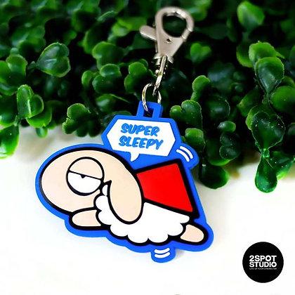 Unsleep Sheep : Supper Sheep Keychain
