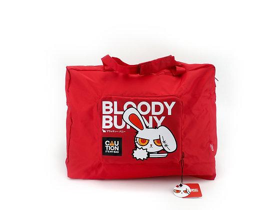 FOLDABLE BAG : Bloody Bunny
