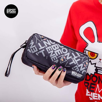 Dont be my enemy pouch bag (text)