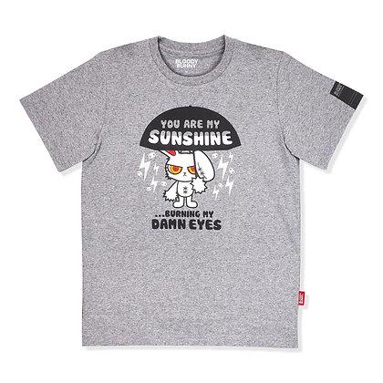 Bloody Bunny (Sun Shine-Gray) T-Shirt