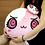 Thumbnail: MUMU Round Plush Pillow ( Pink )