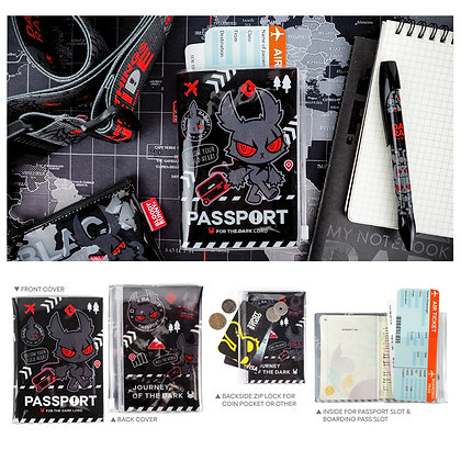 Dark Rabbit Passport Cover