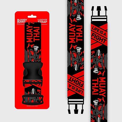 Dark Rabbit (Mauy Thai) Luggage strap