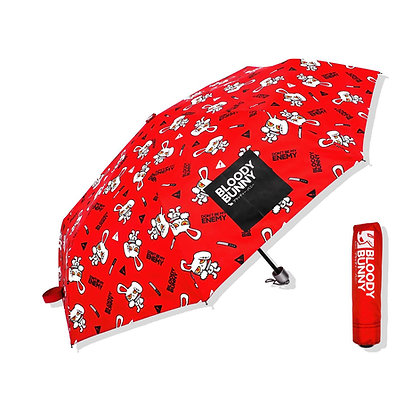 BLOODY BUNNY UMBRELLA (CLASSIC/RED)