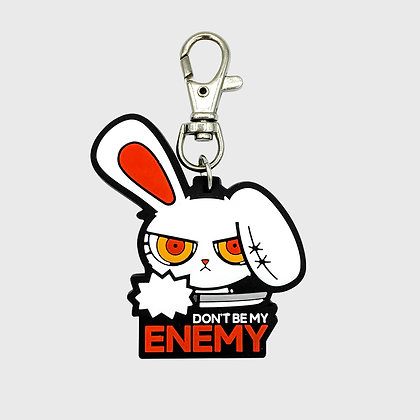 BLOODY BUNNY (ENEMY) KEYCHAIN