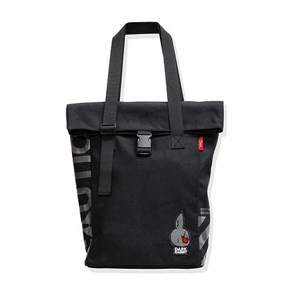 DARK RABBIT TOTEPACK (CLASSIC/BLACK)