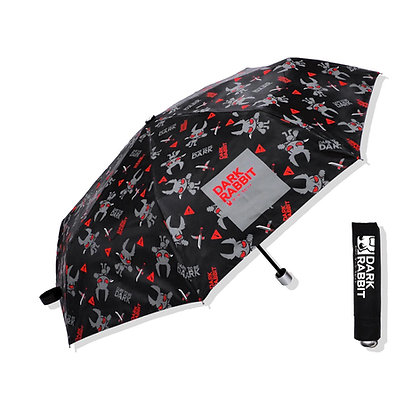 DARK RABBIT UMBRELLA (CLASSIC/BLACK)